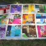 Patchwork color quilt