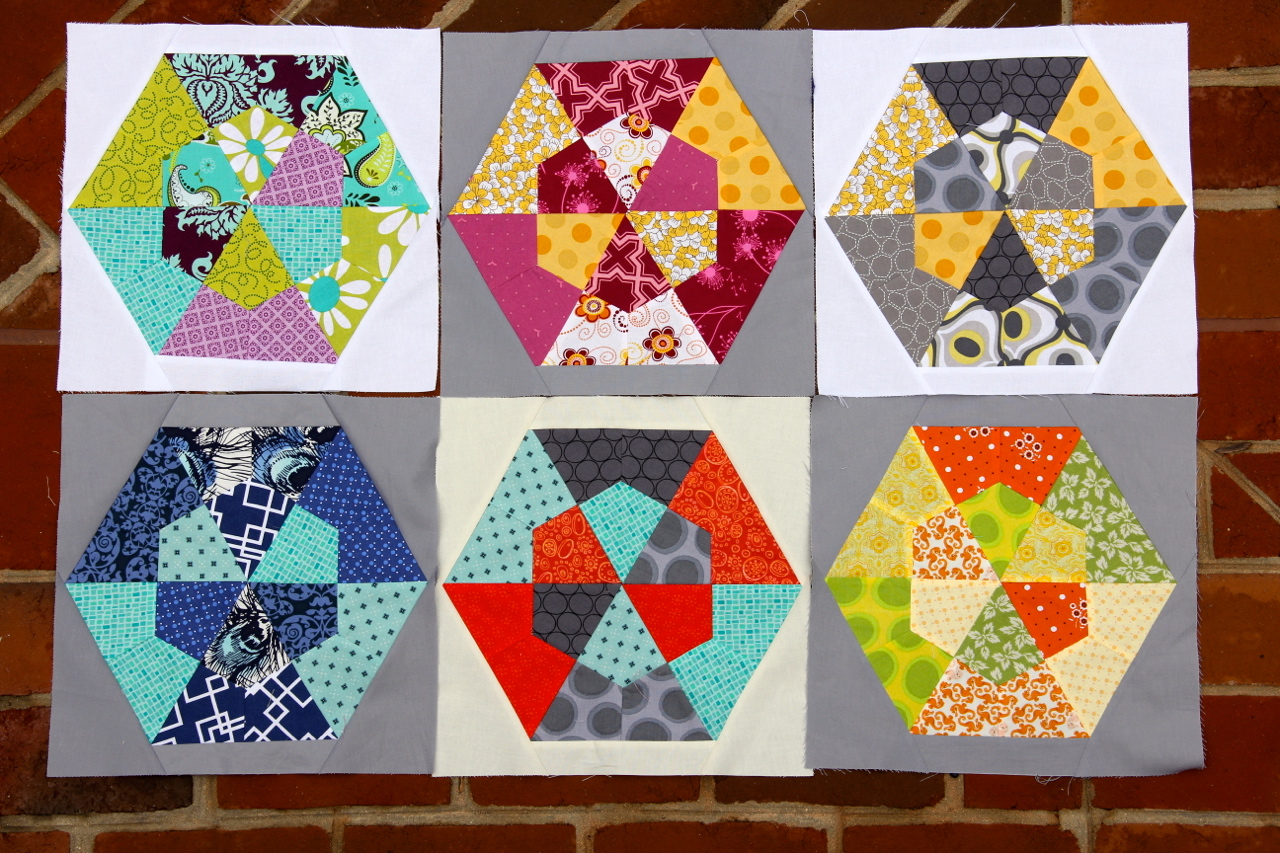 Multiples of 3 block for 4x5 Bee Fall Q 2012