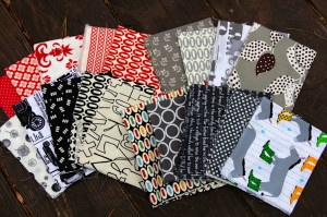 Happy mail: fabric bundle
