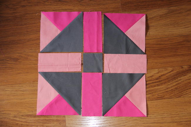 Road Trip Quilt Along tutorial: Delaware