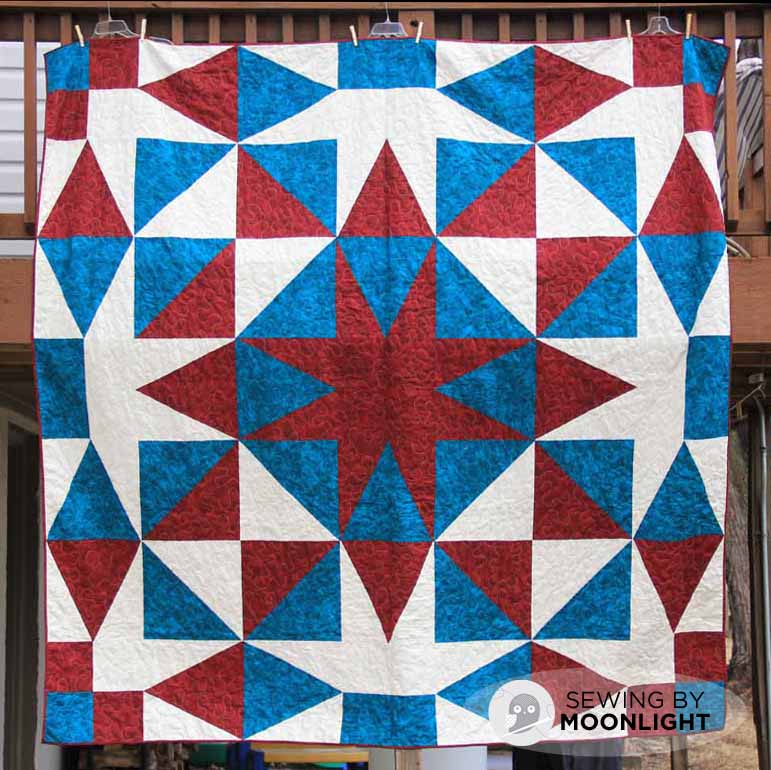 Bill's circle star quilt